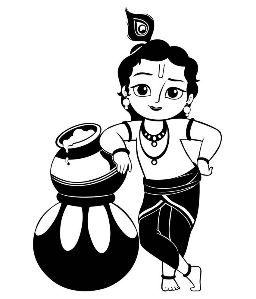 Collection of Krishna clipart.