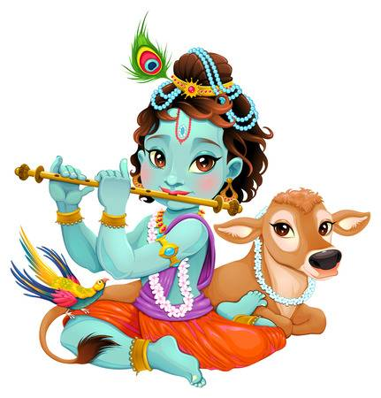 3,279 Krishna Stock Illustrations, Cliparts And Royalty Free Krishna.