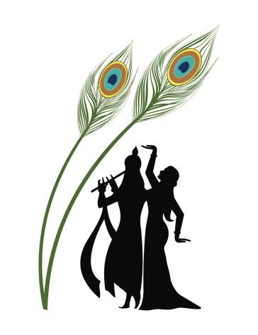 Krishna flute clipart black and white 9 » Clipart Station.