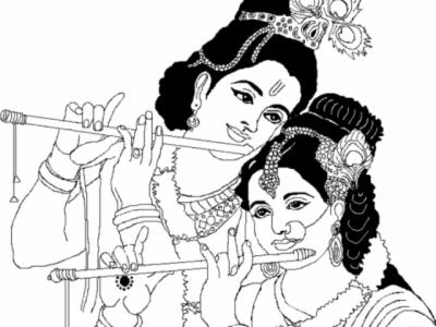 krishna ji , Free png download.