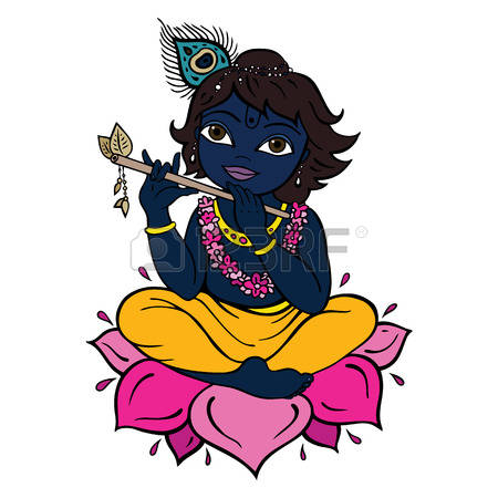 1,205 Krishna Stock Illustrations, Cliparts And Royalty Free.