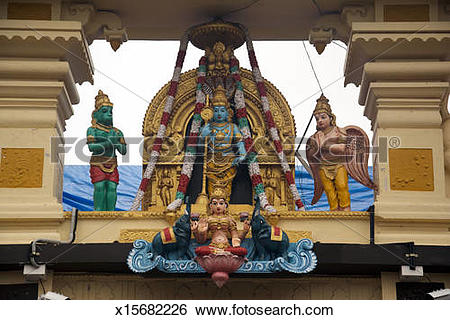 Stock Images of Krishna Temple x15682226.
