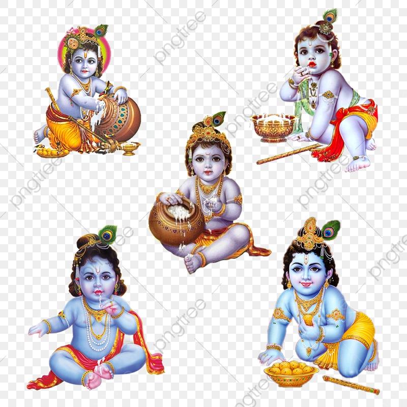 Shri Krishna Image, Makahn Chor, Balak Krishna PNG Transparent.