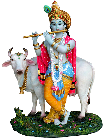 Krishna With Cow Png & Free Krishna With Cow.png Transparent Images.