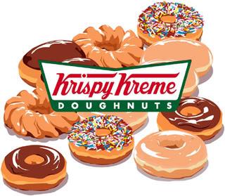 Krispy Kreme Donuts Clipart.