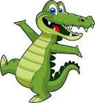 Krokodil cliparts kostenlos.