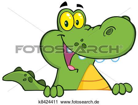 Krokodil Clipart Illustrationen. 4.425 krokodil Clip Art Vektor.