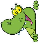 Clipart Krokodil.