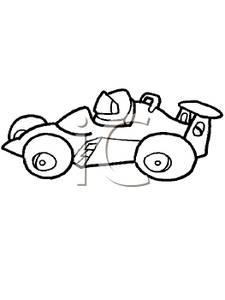 Clip Racing Cars.