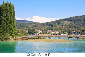 Picture of Resort Krumpendorf am Worthersee and Lake Worth.