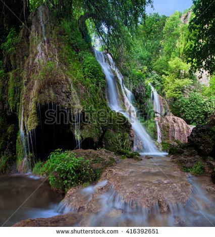 Krushuna Falls Lizenzfreie Bilder und Vektorgrafiken kaufen.