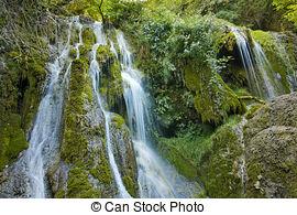 Stock Photo of Amazing view of Krushuna Waterfalls, near the city.