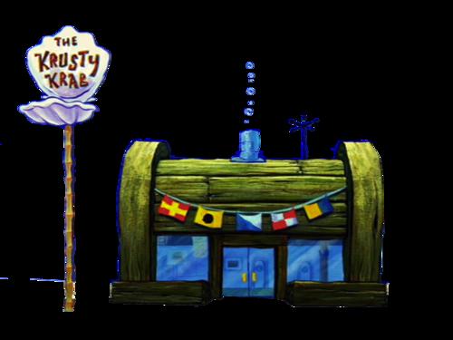 Krusty Krab PNG.