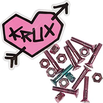 Amazon.com : Krux Trucks Krome Phillips Head 7 Pink/1 Blue.