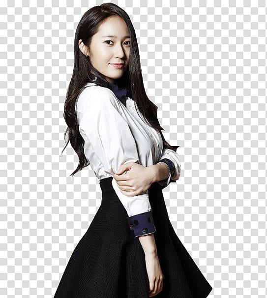Krystal Jung transparent background PNG clipart.