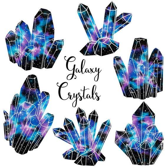 Crystal clipart: \