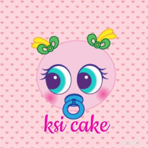 ❤ ksi cake ❤.