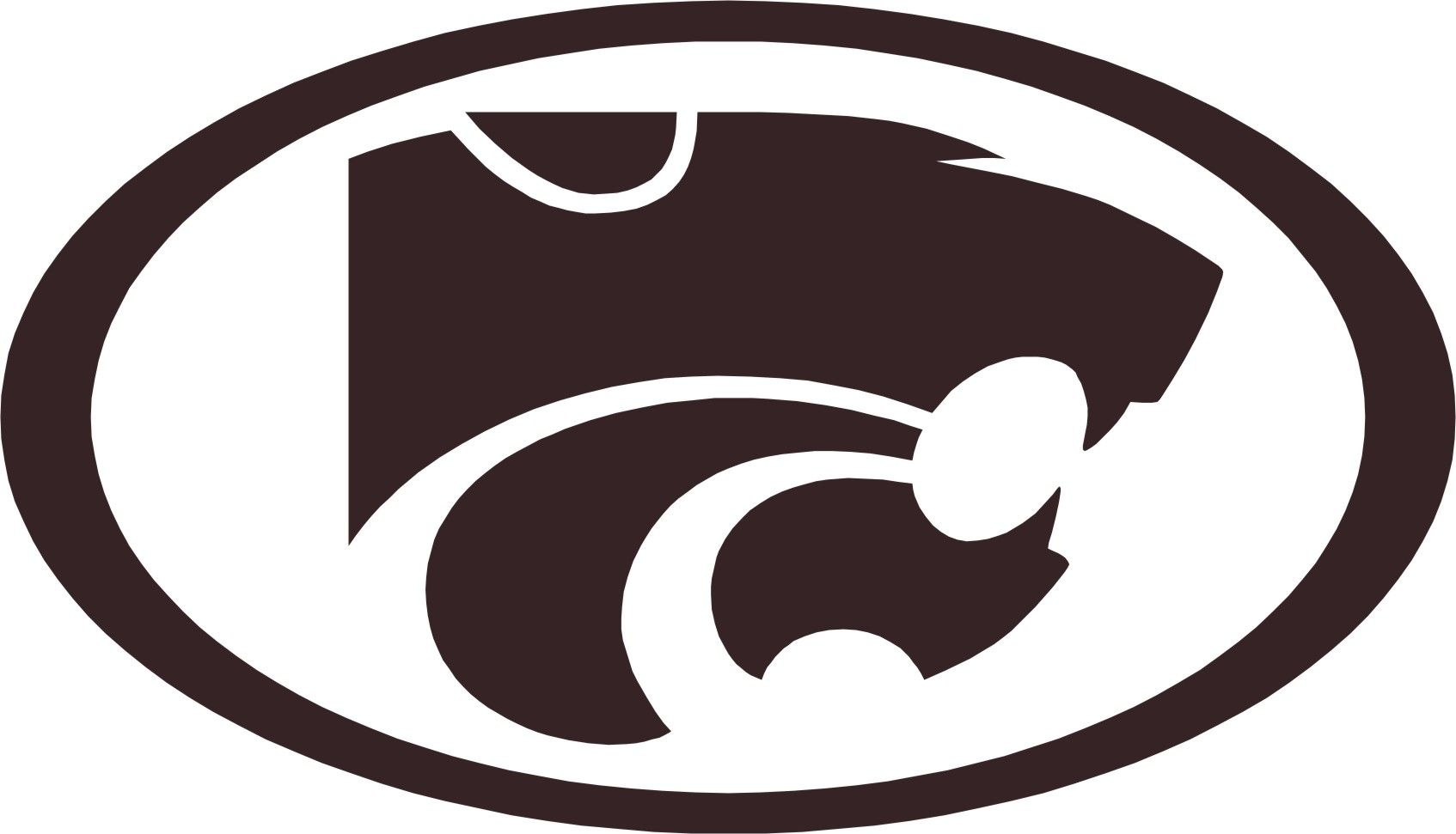 k state wildcats logo.