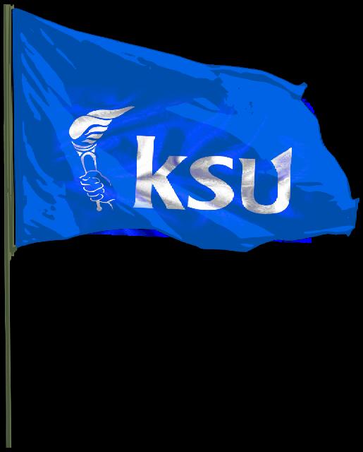 Hardworkers of KSU™: KSU Flag png.