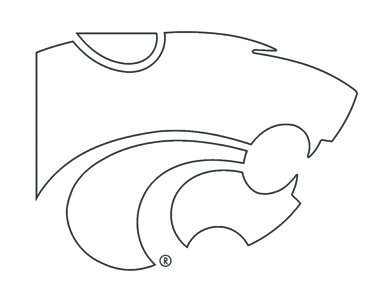 Kansas State University Coloring Pages.