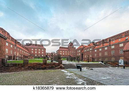 Stock Photograph of University KTH in Stockholm k18365879.