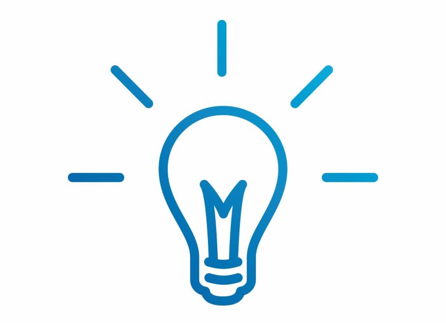 Lightbulb Icon.
