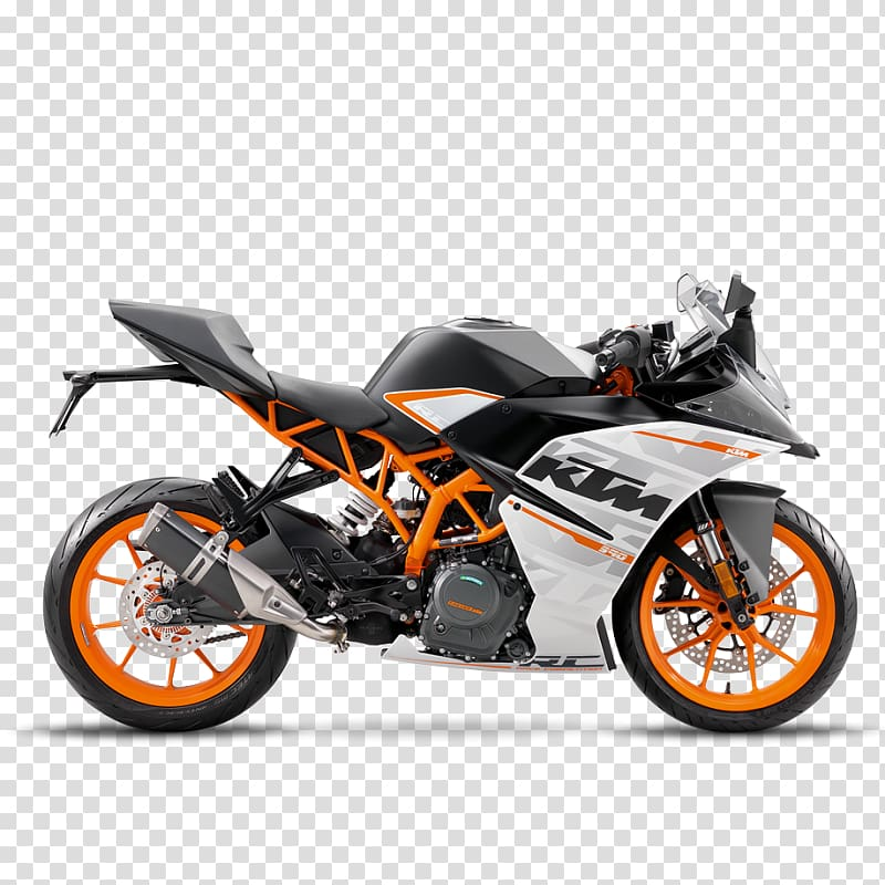 KTM RC 390 EICMA Car Motorcycle, car transparent background.