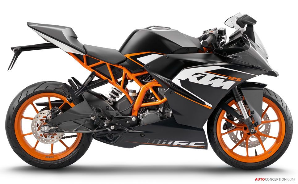 KTM Supersport RC 125 I want one of these for Christmas.
