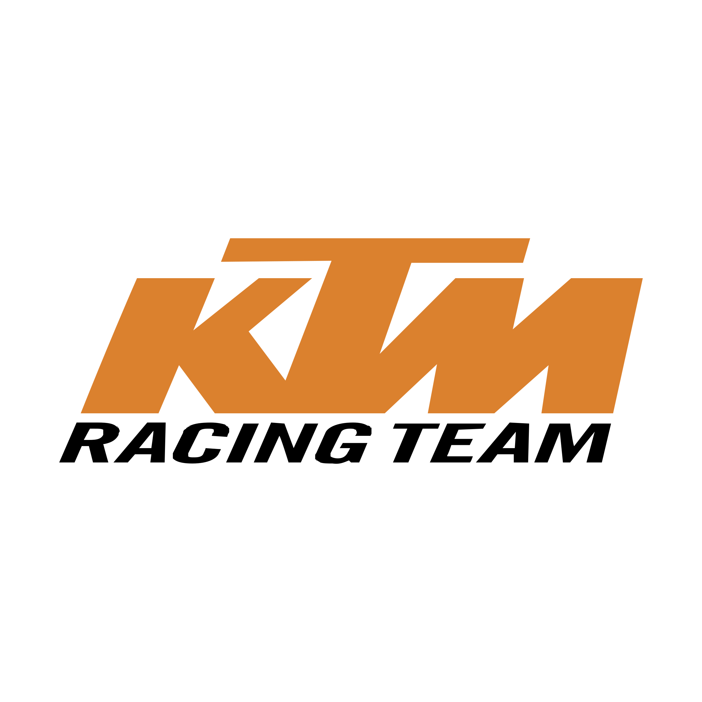 KTM Racing Team Logo PNG Transparent & SVG Vector.