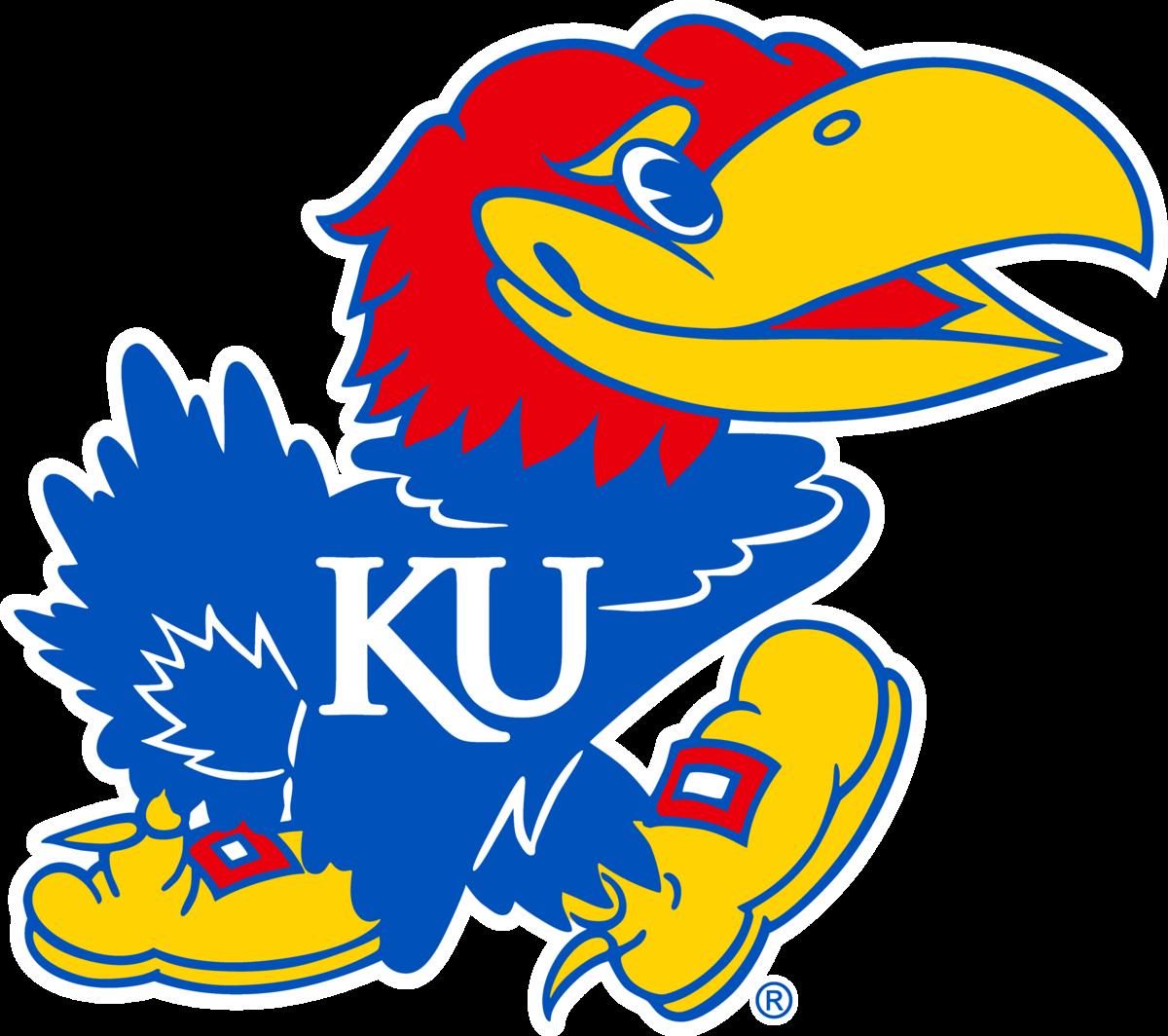 Kansas Jayhawk Logo.