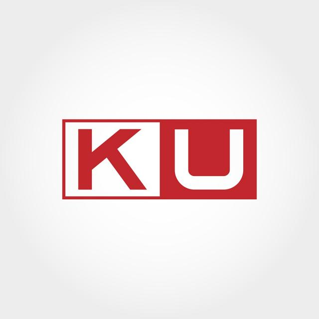 Initial Letter Ku Logo Template Template for Free Download on Pngtree.