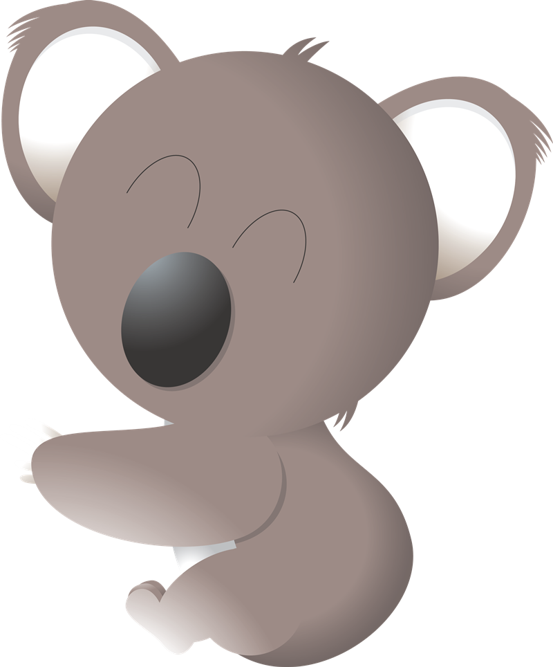 Free to Use & Public Domain Koala Clip Art.