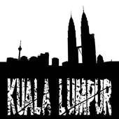 Clipart of Skyline Kuala lumpur k6605253.