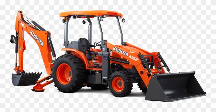 Kubota M Series Tractor Loader Backhoe M62tlb.