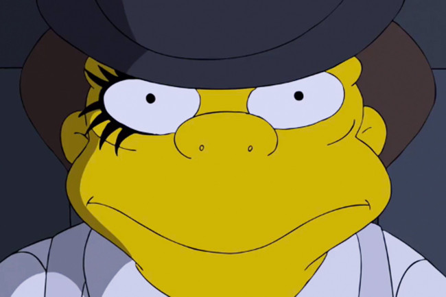 The Simpsons' does Kubrick: A 2.