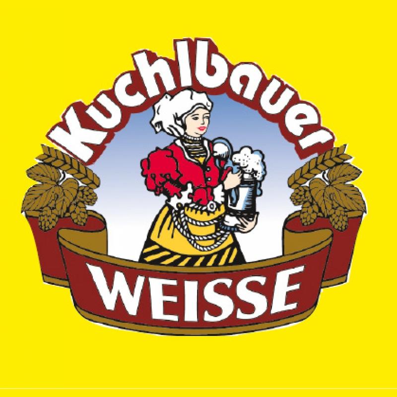 """Kuchlbauer """"alte Liebe"""" Hefeweizen dunkel 0,5l Flasche, 1,29 €."""