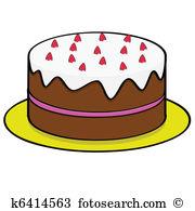 Kuchen Clipart Lizenzfrei. 64.100 kuchen Clip Art Vektor EPS.