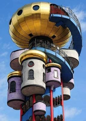 Friedensreich Hundertwasser, Towers and Bavaria on Pinterest.