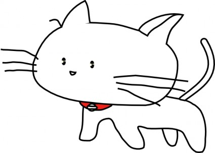 Kucing clipart 6 » Clipart Station.