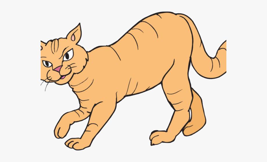 Big Cat Clipart Walking.
