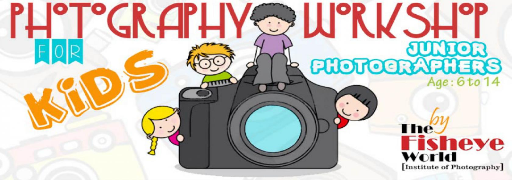 Junior Photography Workshop in Mumbai.