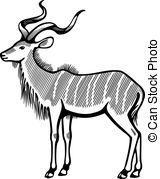 Kudu Clipart and Stock Illustrations. 36 Kudu vector EPS.
