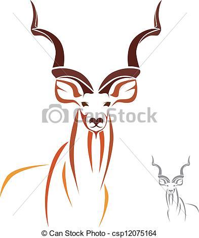 Kudu Vector Clipart Illustrations. 21 Kudu clip art vector EPS.
