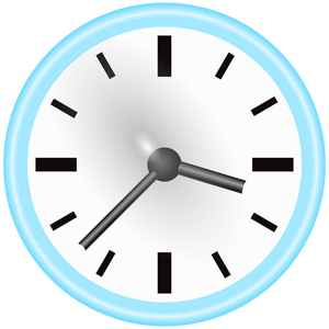 440 half past clock clipart.