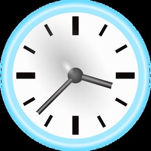 440 half past clock clipart.