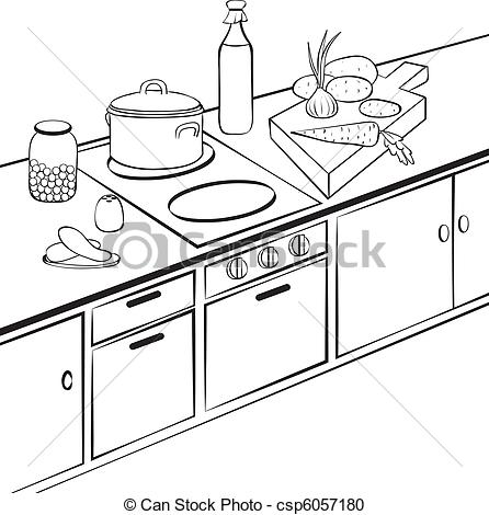 My Kitchen Clipart.