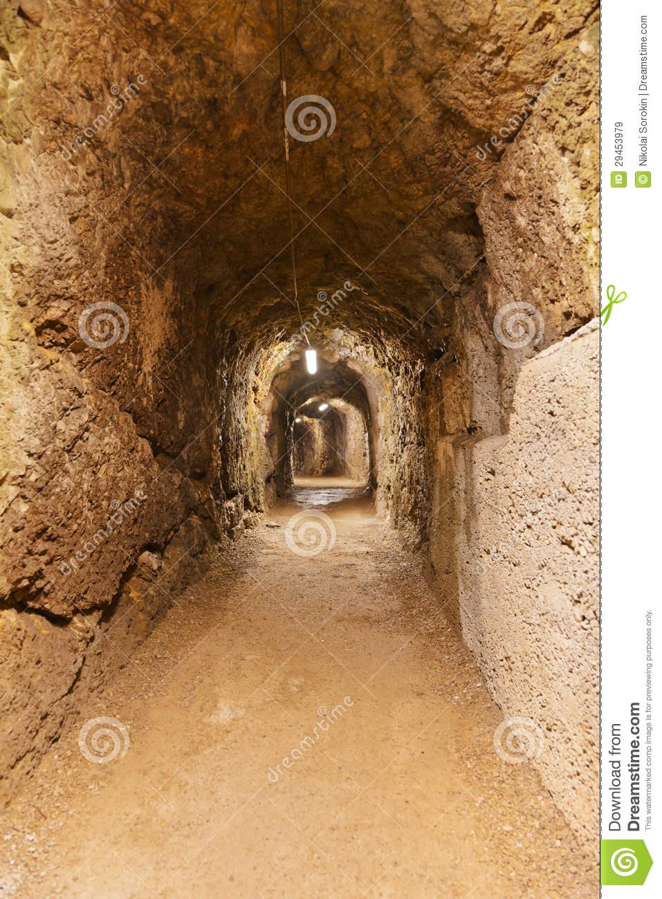 Secret Tunnel In Castle Kufstein.