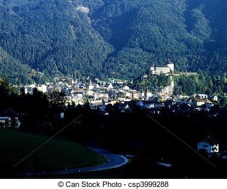 Pictures of Kufstein, Austria.