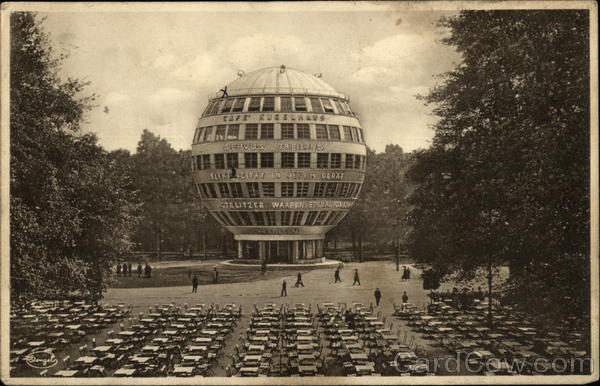 Cafe Kugelhaus Dresden, Germany Postcard.