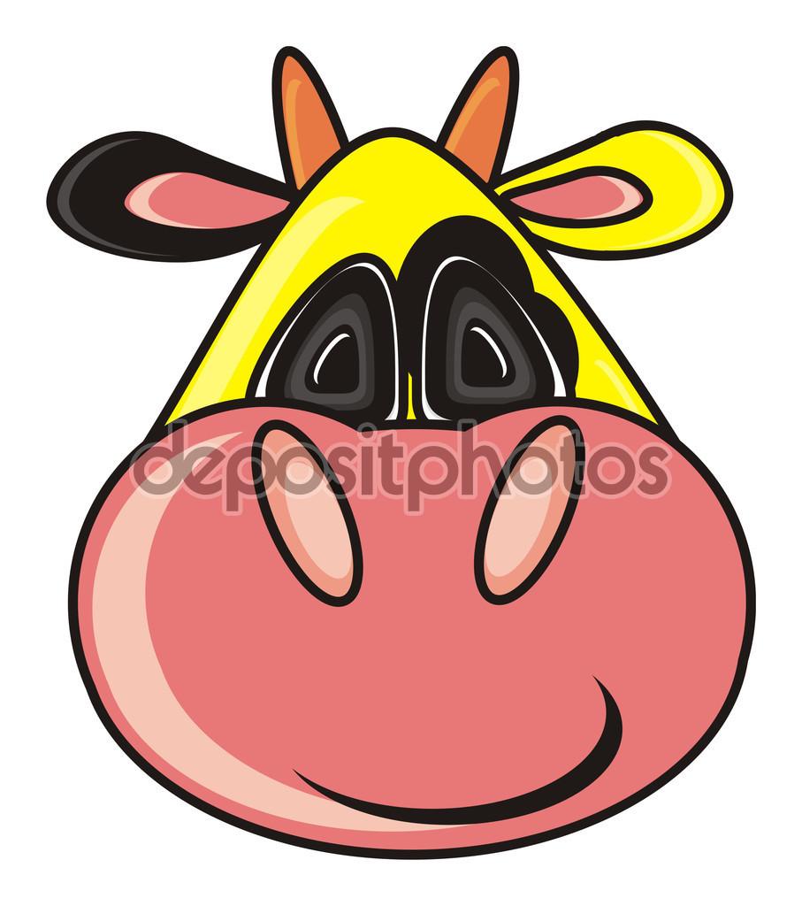 Tier, Bauernhof, Kuh, Stier, Kalb, Spielzeug, Cartoon, isoliert.